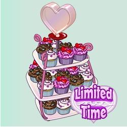 Webkinz Valentine Cupcakes