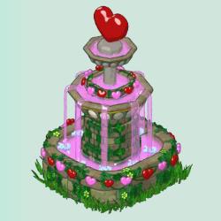 Webkinz Valentine Fountain